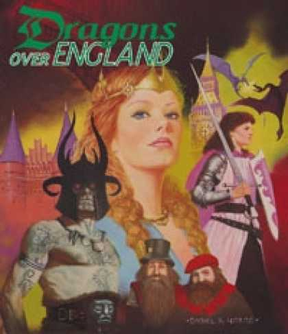 Role Playing Games - Torg: Dragons Over England