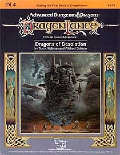 Role Playing Games - Dragons of Desolation