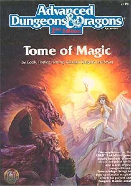 Role Playing Games - Tome of Magic