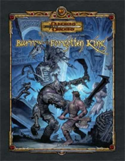 Role Playing Games - Barrow of the Forgotten King