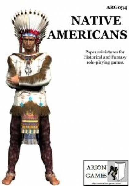 Role Playing Games - Native Americans Set