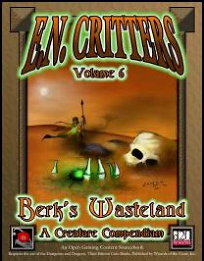 Role Playing Games - E.N. Critters - Berk's Wasteland