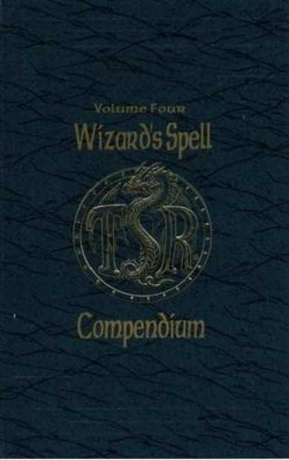 Role Playing Games - AD&D Wizards Spell Compendium Volume 4