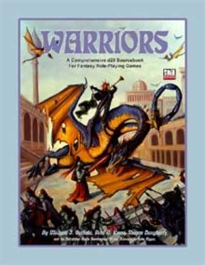 Role Playing Games - Warriors: A Comprehensive d20 Sourcebook for Fantasy Role-Playing Games