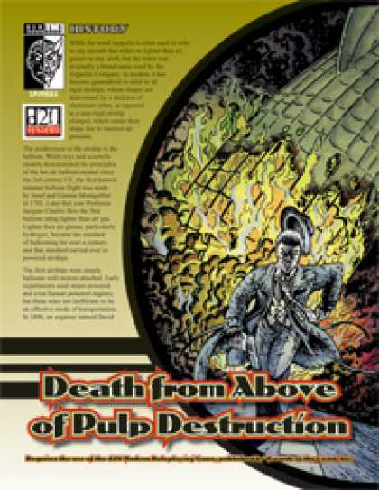 Role Playing Games - Death from Above of Pulp Destruction