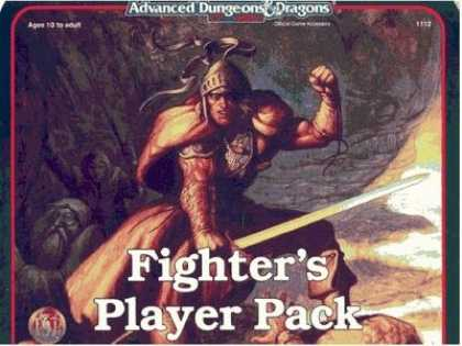 Role Playing Games - Fighter's Player Pack