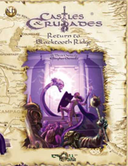 Role Playing Games - C&C Return to Blacktooth Ridge