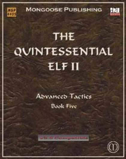 Role Playing Games - The Quintessential Elf II
