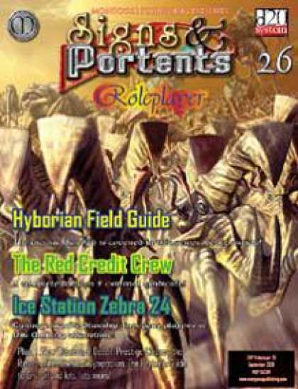Role Playing Games - Signs & Portents Roleplayer 26