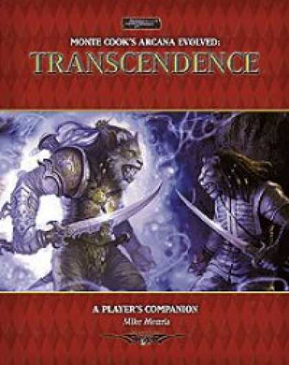 Role Playing Games - Transcendence: An Arcana Evolved Player's Companion