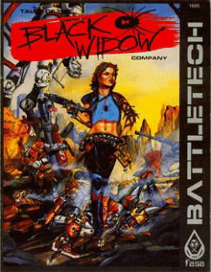 Role Playing Games - Tales of the Black Widow