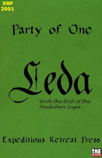 Role Playing Games - Party of One: Leda