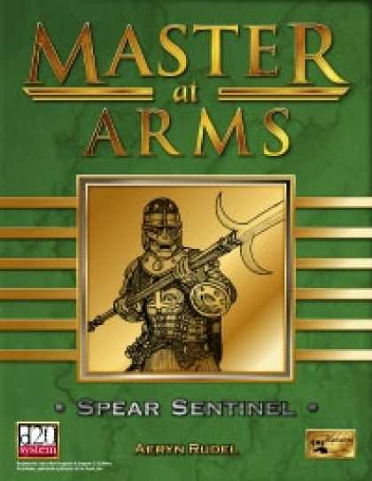 Role Playing Games - Master at Arms: Spear Sentinel