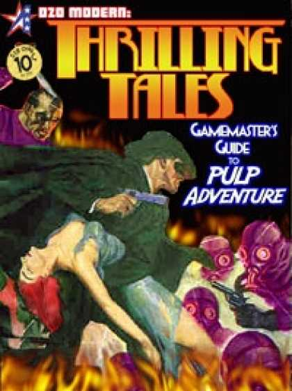 Role Playing Games - THRILLING TALES: Gamemaster's Guide to Pulp Adventure