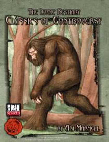 Role Playing Games - Lion's Den Press: The Iconic Bestiary -- Classics of Controversy