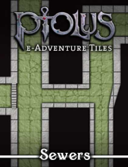 Role Playing Games - Ptolus e-Adventure Tiles: Sewers