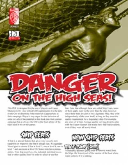 Role Playing Games - Danger on the High Seas