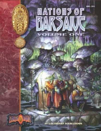 Role Playing Games - Nations of Barsaive, Volume One