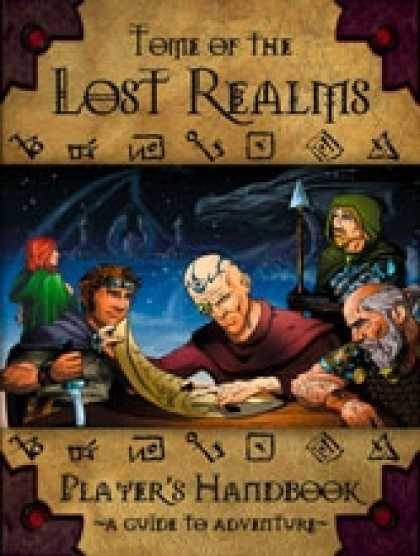 Role Playing Games - Tome of the Lost Realms Players Handbook