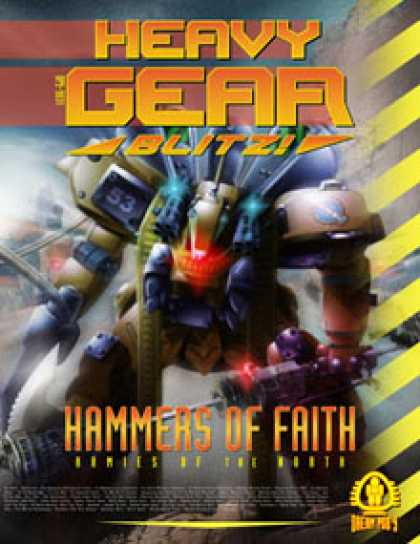Role Playing Games - Heavy Gear Blitz! Hammers of Faith