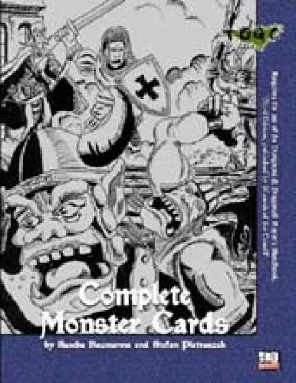 Role Playing Games - Complete Monster Cards