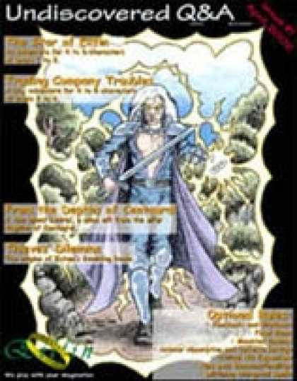 Role Playing Games - Undiscovered Quests & Adventures, Issue #1