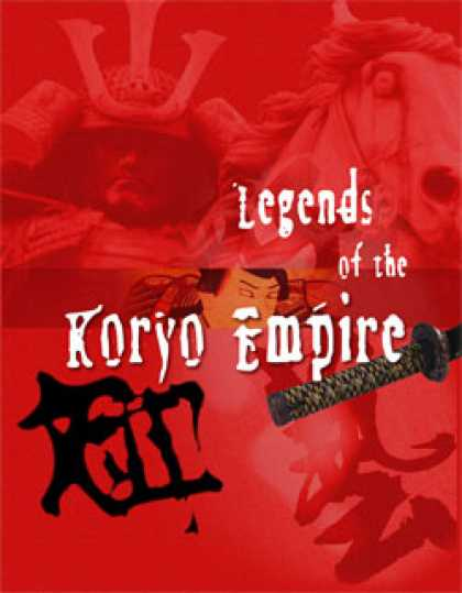 Role Playing Games - Legends of the Samurai: Legends of the Koryo Empire