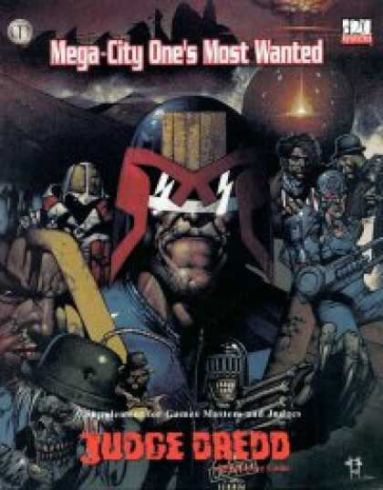 Role Playing Games - Mega-City One's Most Wanted & GM's Screen
