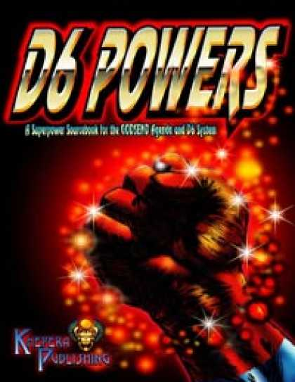 Role Playing Games - D6 Powers