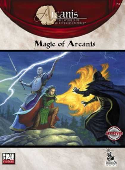 Role Playing Games - Magic of Arcanis
