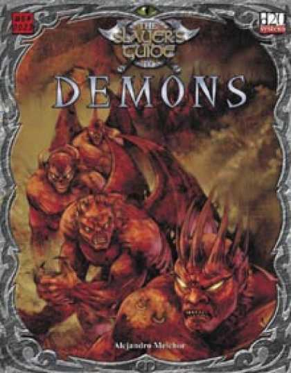 Role Playing Games - Slayer's Guide to Demons