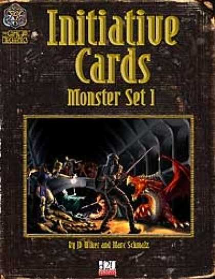 Role Playing Games - Initiative Cards: Monster Set 1