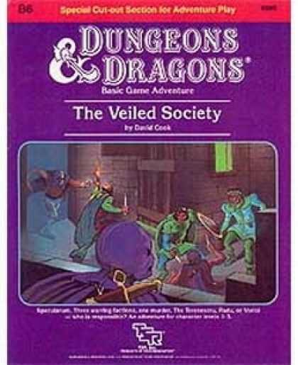 Role Playing Games - B6 - The Veiled Society