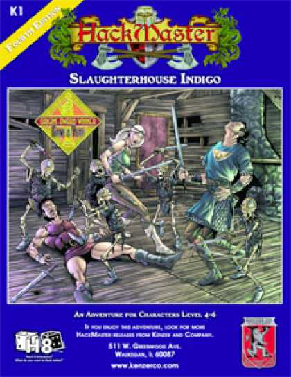 Role Playing Games - Slaughterhouse Indigo