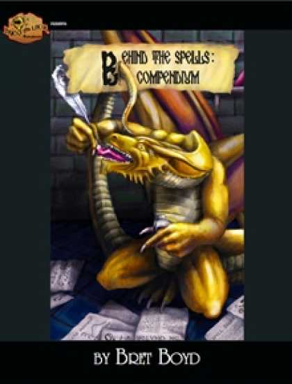 Role Playing Games - Behind the Spells: Compendium