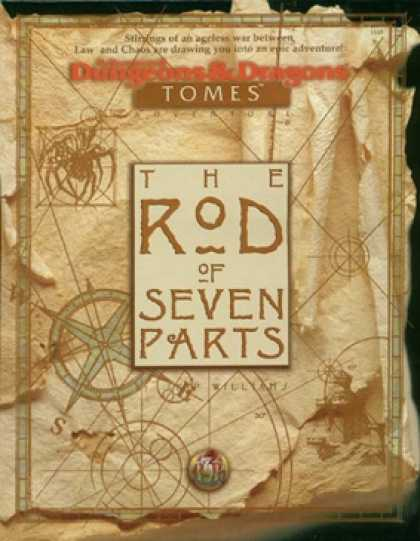Role Playing Games - The Rod of Seven Parts, boxed adventure