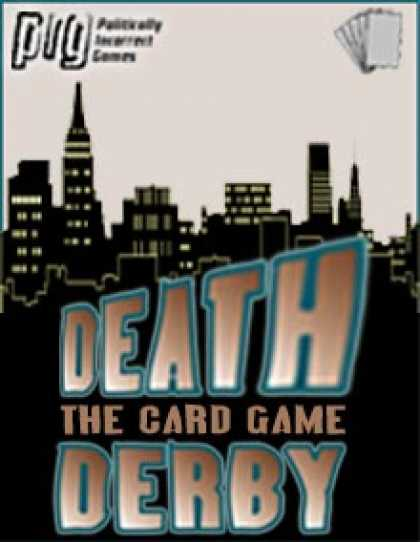 Role Playing Games - Death Derby: The Demolition Card Game