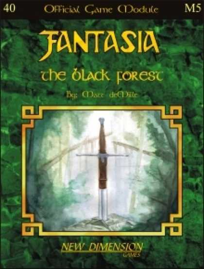 Role Playing Games - Fantasia: The Black Forest--Module M5
