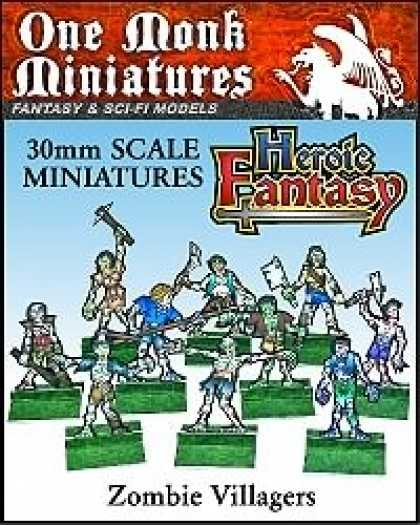 Role Playing Games - Heroic Fantasy Zombie Villagers
