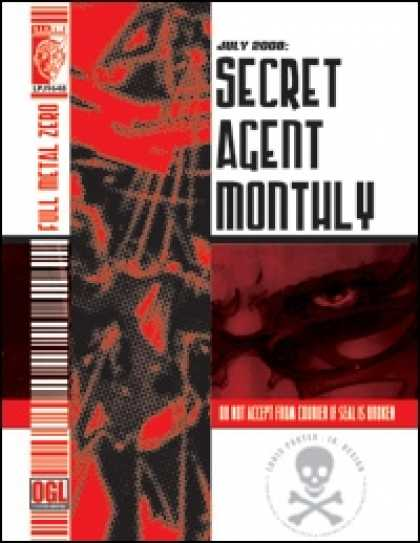 Role Playing Games - Secret Agent Monthly July 08