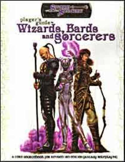 Role Playing Games - Player's Guide to Wizards, Bards and Sorcerers