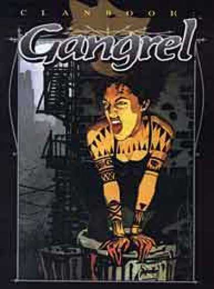 Role Playing Games - Clanbook: Gangrel - Revised Edition