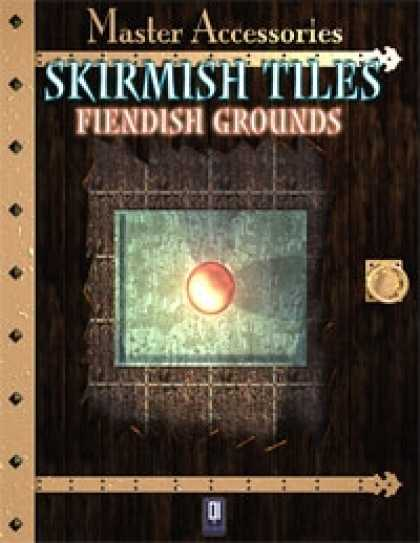 Role Playing Games - SKIRMISH TILES, fiendish grounds