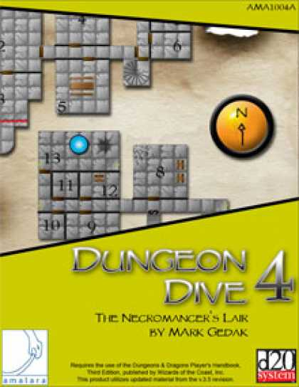 Role Playing Games - Dungeon Dive 4: The Necromancer's Lair