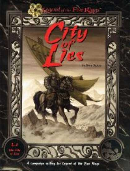 Role Playing Games - City of Lies Box Set