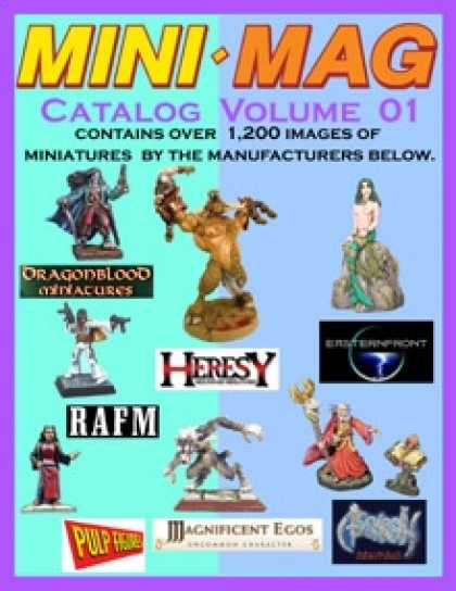 Role Playing Games - Mini Mag VOLUME 01