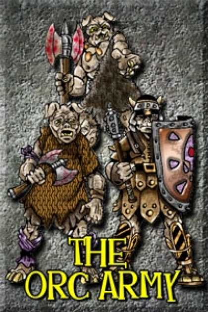 Role Playing Games - Budget Battlefield ORC ARMY