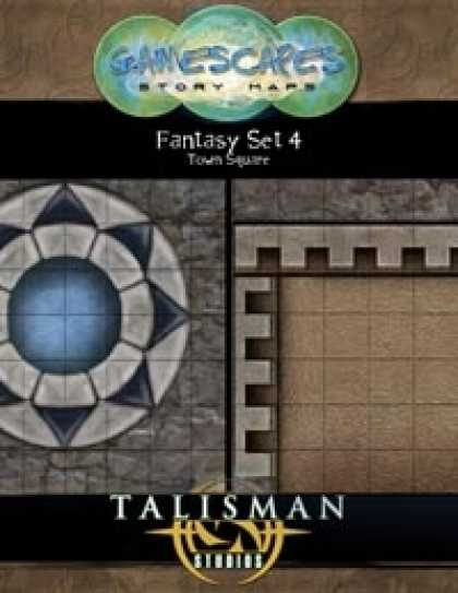 Role Playing Games - Gamescapes: Story Maps, Fantasy Set 4