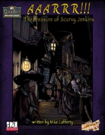 Role Playing Games - QPA - AAARRR!!!: The Treasure of Scurvy Jenkins