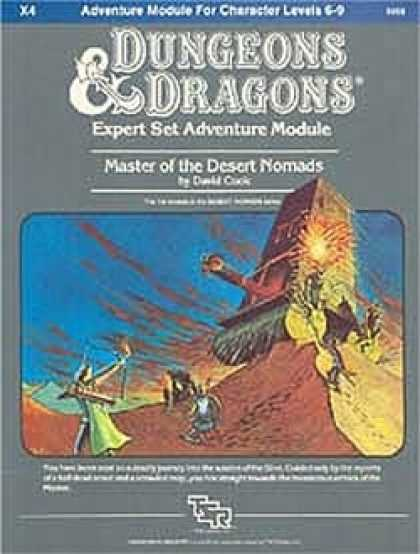 Role Playing Games - X4 - Master of the Desert Nomads